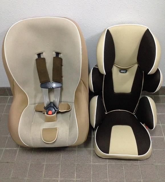 TAKATA child safety seat.