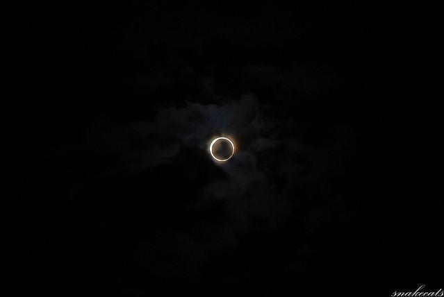 金環日食 2012年5月21日 07時30分15秒