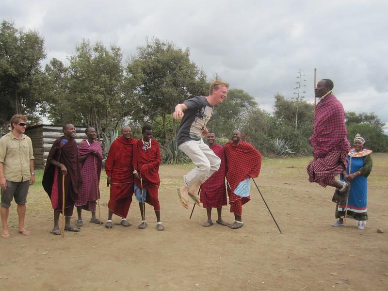 Masai Dancing Tanzania Africa