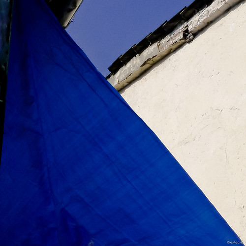 the blue awning by eMecHe