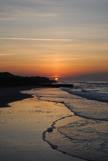 Sunrise on folly