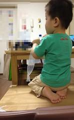 椅子に登って正座するようになってしまった (2012/6/23)