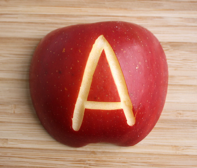 Decorate an Apple for Lunches