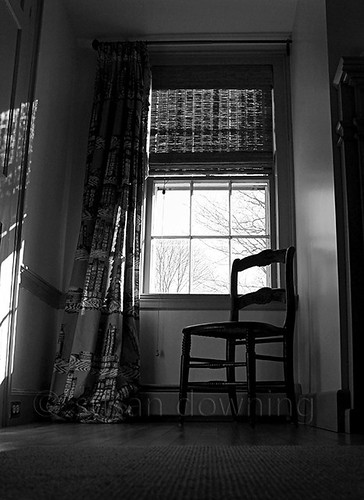 One Chair BW