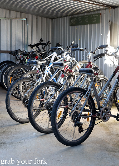 Mountain bikes at Solar Springs Health Retreat, Bundanoon