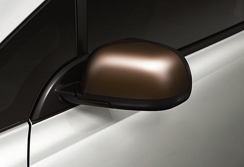 日産リーフ 80周年スペシャルカラーリミテッド 専用ブロンズカラー電動格納式リモコンドアミラー