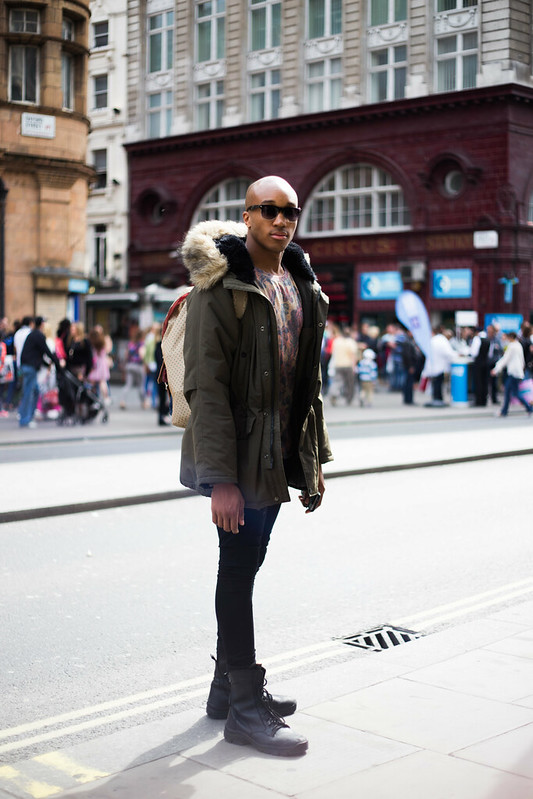 Street Style - Marvin, Oxford Street