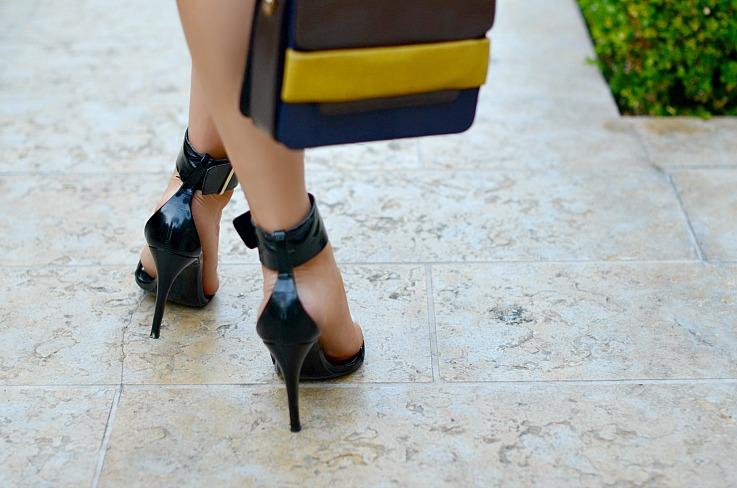 DSC_1695 Zara Black Strapped Heels