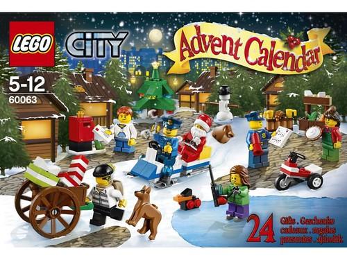 LEGO City 60063 Box