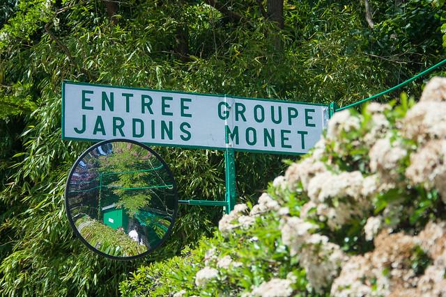 Entree groupe Jardins Monet