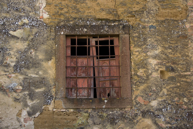 Ruined Tuscan Windows