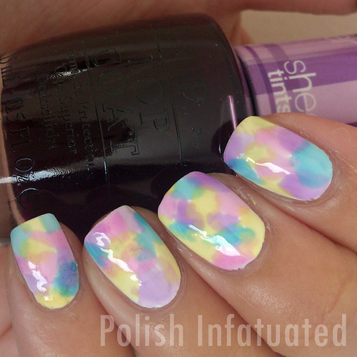 sheer tints nail art2