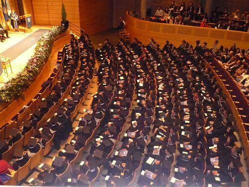 MBA Graduation 2014 - A Sea of Graduates