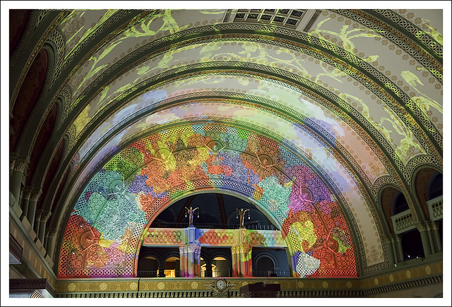 Union Station Light Show !