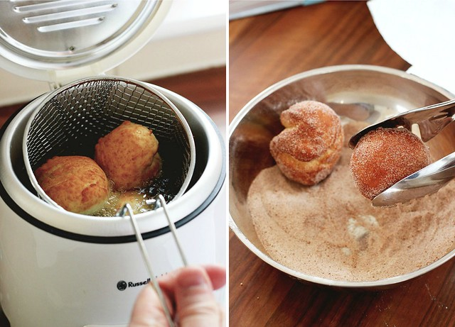 Cinnamon Sugar Donut Recipe