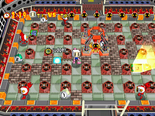 Bomberman Online - battle