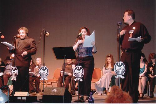 The Elucidated Brethren of the Ebon Night. As portrayed by Dena Friedman Williams and Bill Jackson.