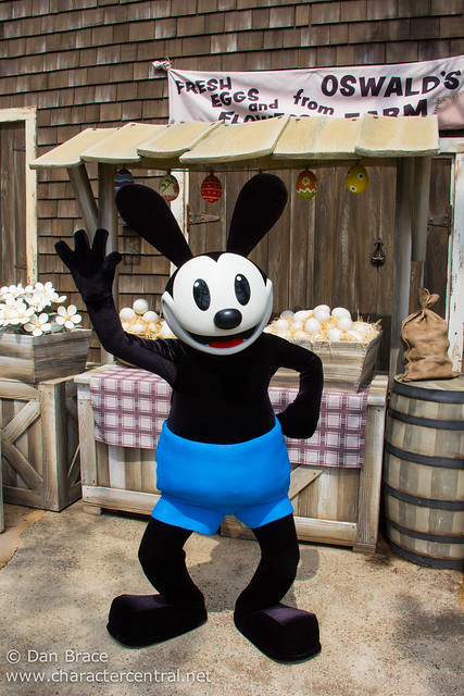 Meeting Oswald the Lucky Rabbit