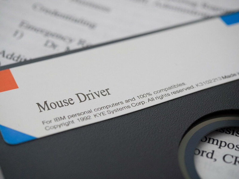 Driver on Floppy
