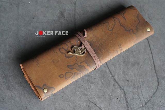 Hộp bút da cuộn Fairy Tail
