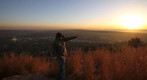 africa sunrise southafrica johannesburg dga espn joberg africansunrise michaelandrus dgaproductions kennymayneswiderworldofsports widerworldofsports