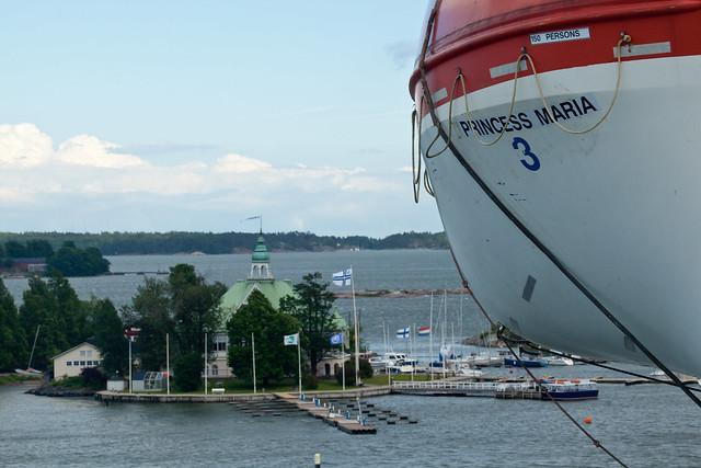 El barco Princess Maria