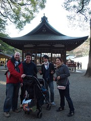 Hikawa Shrine and friends