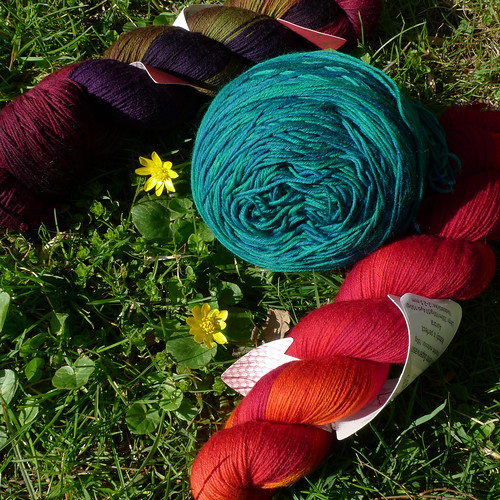 rohrspatz & wollmeise yarn