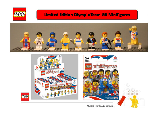 Olympic Minifigs