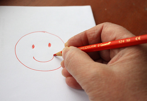 Happy doodle by Helen in Wales