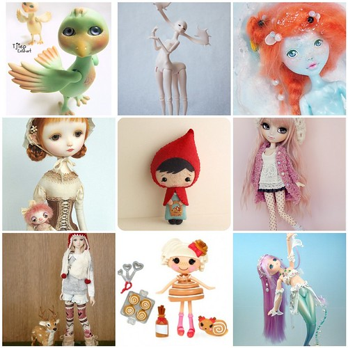 Friday Funspiration: Sweet dolls by merwing✿little dear