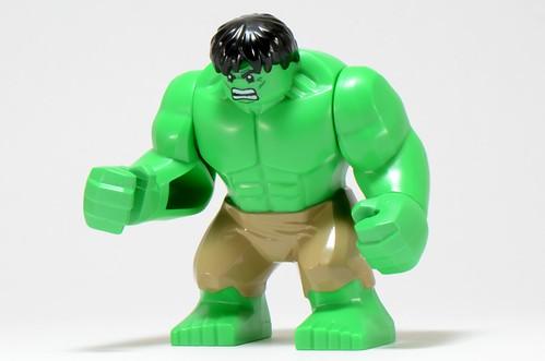 The Hulk Minifig is Smashing