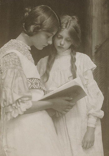 Gertrude and Ursula Falke 1906 by Art & Vintage