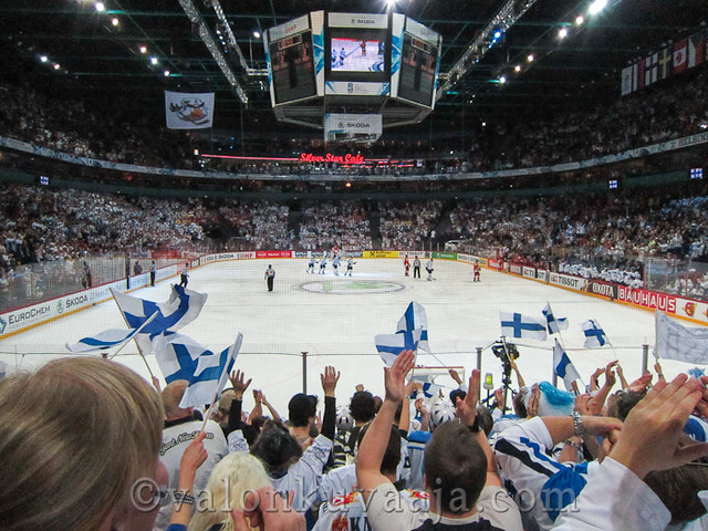 2012 IIHF Ice Hockey World Championship in Finland