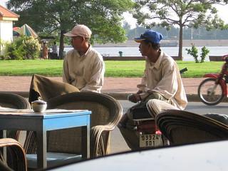 Phnom Penh morning messengers