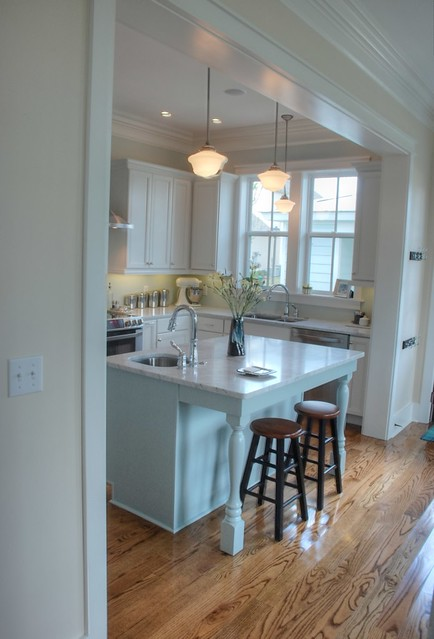 kitchen (dining to right)
