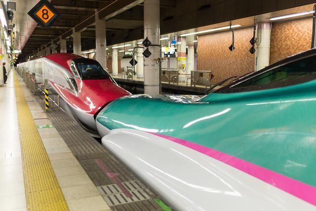 上野駅 スーパーこまち・はやぶさ