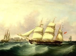 Schiffe brachten die indianischen ...