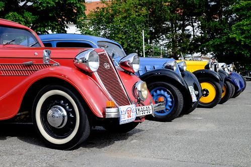 Zbrojovka cars - Z-5 Express, Z-4, Z-18 phaeton, Z-4 roadster, Z-18 Sport