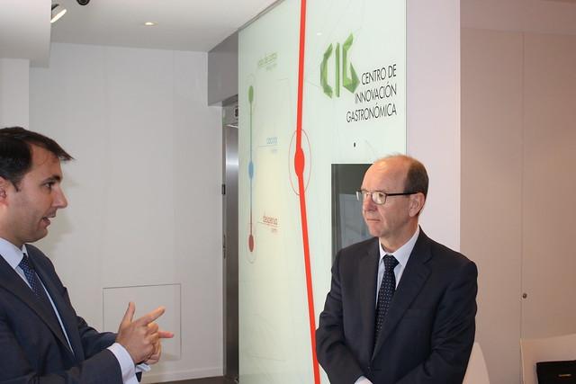 Visita al CIG de D. Dirk Verlee