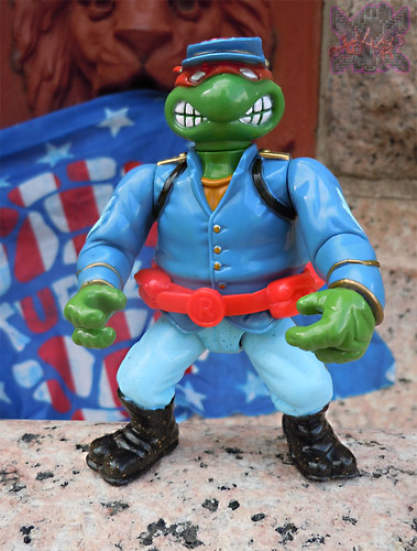 """MUTANT MILITARY 2"" TEENAGE MUTANT NINJA TURTLES ::  YANKEE DOODLE RAPH  vii (( 1992 ))"