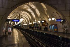 Paris Métro station Cité