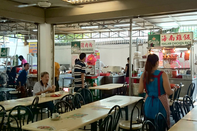 Peter's Pork Noodles, Brickfields - stall