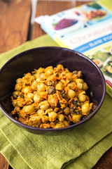 Curried Chickpea and Carrot Salad