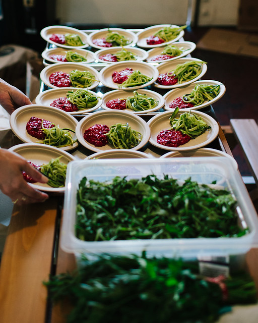 Vibrant Food Launch Party