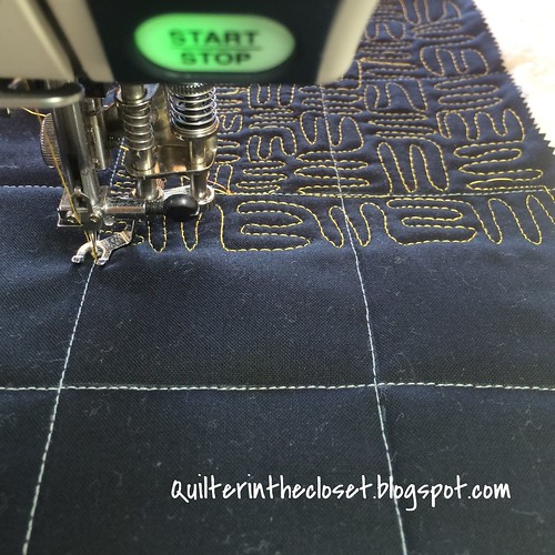 stitching the 2nd quadrant