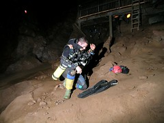 Caving: Wookey Hole (03-Dec-2006) Image