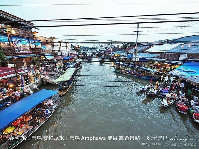 泰國 水上市場 安帕瓦水上市場 Amphawa 曼谷 旅遊景點 41