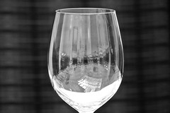 wine glass, drinkware, stemware, tableware, monochrome photography, glass, champagne stemware, still life photography, drink, monochrome, black-and-white, alcoholic beverage,