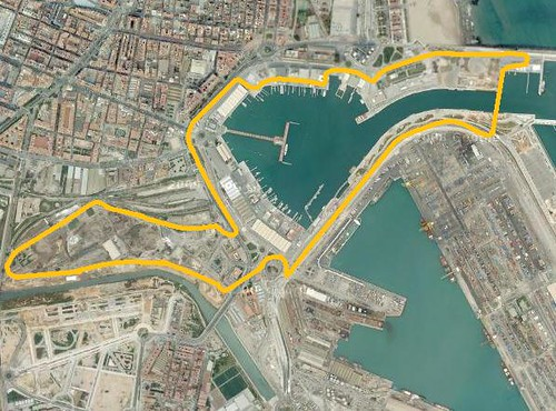 2012 f1 gp europa pit stop - Laydown puerto valencia ...
